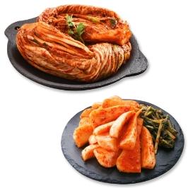 [게릴라특가] 김치대통령 배추김치1kg+총각김치1kg 外 9종 / 원재료 100% 국산