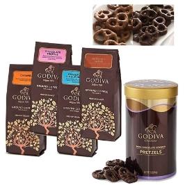 [해외배송] GODIVA 고디바 모음 커피 284g 초콜릿 커버 프레즐 454g