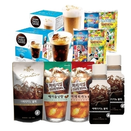 [묶음배송] 이한치한! 아이스 커피, 티 음료 모음전