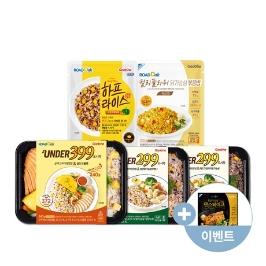 굽네 닭가슴살 베스트 17종 혼합세트/훈제닭가슴살/소세지/만두