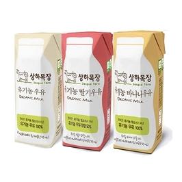 [원더배송] 상하목장 유기농 멸균우유 125mx48팩