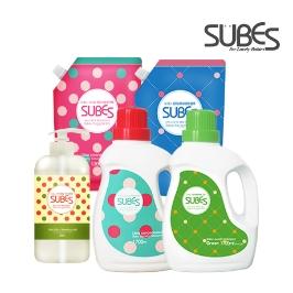 슈베스 식물성 유아세제/섬유유연제/젖병세정제/젖병솔 모음