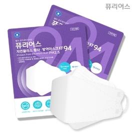 KF94 국산 일회용 마스크 4중필터 성인용 아동용