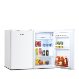 마루나 소형 냉장고 BC-90(87리터) 아이보리/그레이