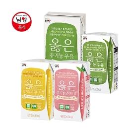 [슈퍼더블특가] 남양 옳은 유기농우유 24팩 특가! 외 맛있는우유 / 과수원
