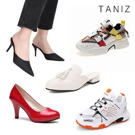 인기 신발 타니즈 여성 스니커즈/앵클부츠/워커/롱부츠/단화/로퍼 70종