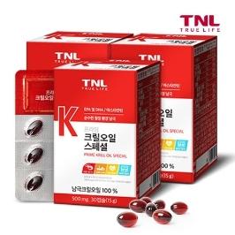 [위메프어워즈] TNL 남극100% 크릴오일 1+1+1+1+1 5개월분 外 루테인,비타민,밀크씨슬,오메가3