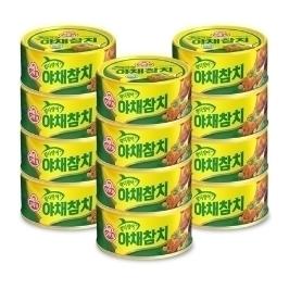 [더싸다특가] 오뚜기 야채 참치 150G x 12개 외 오뚜기 모음