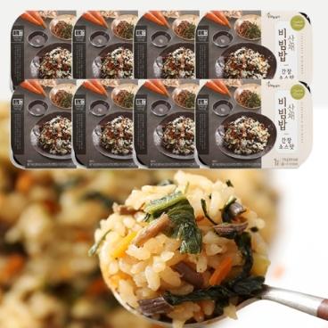 [하늘농가] 냉동비빔밥,산채비빔밥 고추장,산장소스맛 2종
