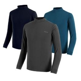 [투데이특가] 약기모 긴팔 반폴라 티셔츠 JJ-808 남성 기모티셔츠 남자 작업복 기본 티셔츠 가을 겨울 아웃도어
