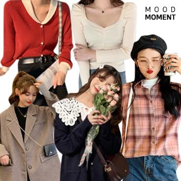 무드모먼트_30%할인쿠폰+10%적립/봄 신상추가 매일 입고싶은 데일리룩