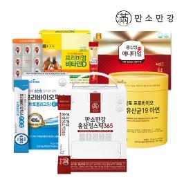 만소만강 대용량 홍삼정 스틱 365 10g 90포 1박스 3개월분 외 홍삼, 유산균, 비타민D 면역 건강식품  모음