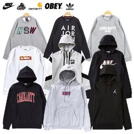 [슈즈코치] 나이키·아디다스외 브랜드 티셔츠/맨투맨/후드/패딩모음