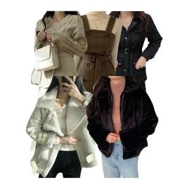 [위메프어워즈] 브랜디X쇼핑몰 베스트 데일리룩/아우터,패딩,코트,자켓,조끼,폴라티,기모,이너티셔츠 外