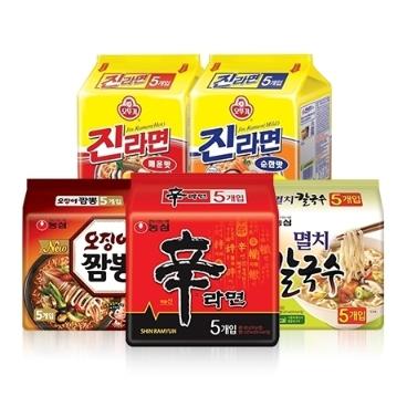 [원더배송] JMT 존맛탱 라면 / 쌀국수 골라담기