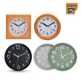 [알파] PB시계 기획전/아날로그시계/탁상시계/디지털알람시계/벽시계