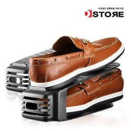 공간활용 신발정리 슈즈랙 10개 20개 30개 | 2세트이상구매시 부츠키퍼증정 신발장/신발정리대/슈즈렉/신발정리함/수납선반