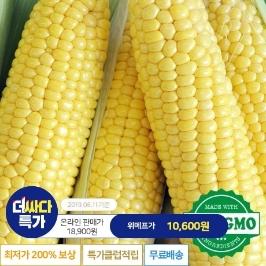 [더싸다특가] [당일수확당일발송]초초초!!달고 노란!! 초당옥수수 10개/16/20개
