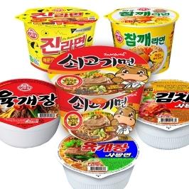 [더싸다특가] 삼양 신제품! 쇠고기면 큰컵 16개 外 인기 컵라면 모음