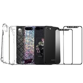 [더싸다특가] 아이폰6 7 8 XS XR 맥스 미러 젤리 하드 케이스 풀커버 강화유리 액정보호필름