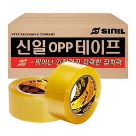 신일 OPP 박스테이프/택배/포장용테이프 OPP테이프, 투명테이프, 스카치테이프