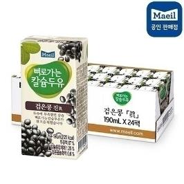 [더싸다특가] 매일 뼈로가는 칼슘두유 검은콩 190mlx72팩/역대급 쿠폰할인!/단 하루!