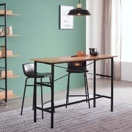 클라레 인테리어 홈바 테이블 철제수납장 높은 수납형 바테이블 아일랜드식탁 1000/1200/1400
