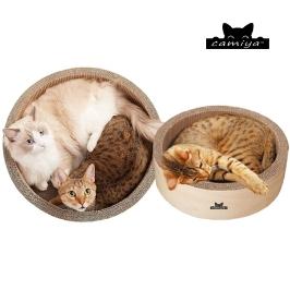 [더싸다특가] 까미야 써클 스크래쳐 하우스 고양이 스크래처 모음전