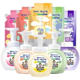 [감염제로] 아이깨끗해 핸드워시 용기+리필5개 / 핸드워시 거품 손세정제 우한폐렴예방 코로나예방