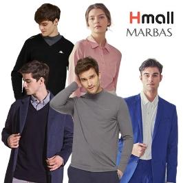 홈쇼핑 의류! 마르바스 카파 셔츠/목폴라/맨투맨 모음