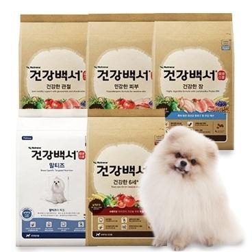 [반려동물데이] 건강백서 6kg / 10.2kg 대용량 사료
