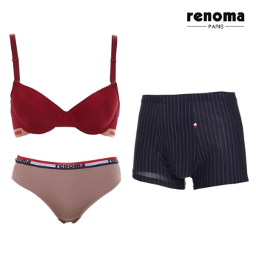 [패션플러스] 레노마 이너웨어/브라/팬티/드로즈/트렁크/런닝/사각팬티/삼각팬티/여성속옷/남성속옷/브랜드속옷