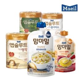 [2020설] 맘마밀 안심밥상 이유식/분유 매일유업 유아식 모음전