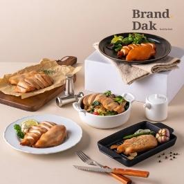브랜드닭 훈제 닭가슴살 50팩 무료배송