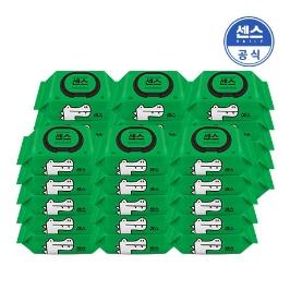 센스 물티슈 캡형 10팩+10팩+10팩 총 30팩 외 대용량 전라인 브랜드 모음전/생활물티슈