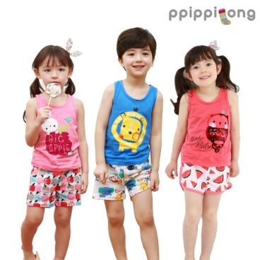 [패션플러스] 삐삐롱 (아동 티셔츠/민소매/실내복/팬츠/레깅스/상하복/원피스/조끼/스커트/내의)