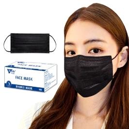 당일출고/고급형 화이트 블랙일회용마스크50매.40매