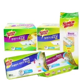 3M 미세먼지 베이직 정전기 청소포 표준형 90매/베이직청소포/물걸레청소포 모음