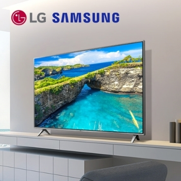 재고확보 즉시할인 미국직배송 LG 삼성 TV 7종