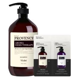 천연샴푸 퍼퓸샴푸 프로방스 바이올렛 샴푸 1000ml 약산성 대용량