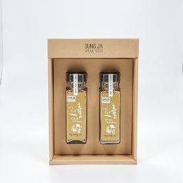[차밀] 휼 천연조미료 프리미엄 2종세트 120g 2병