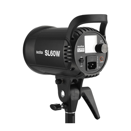 Godox SL-60W LED 비디오 라이트 기본구성 + 삼각대 + 천 조명 (백색광)