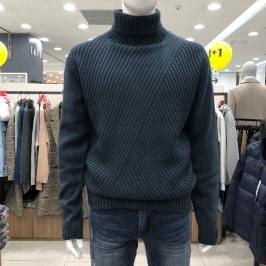 [모다아울렛] 닉스 남성 사선케이블 터틀넥 스웨터 NMW CWT112-3