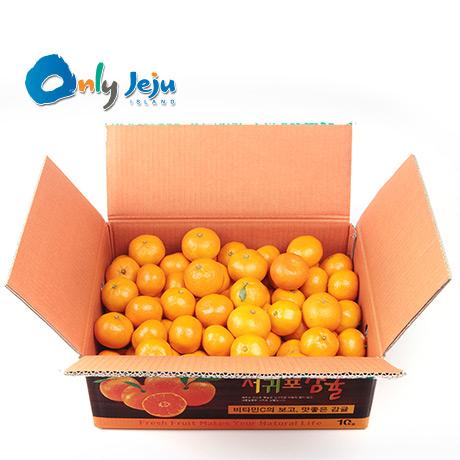 한정 새콤달콤 제주 감귤 7kg(L-2L/중대과) 2개 구매시 15kg발송