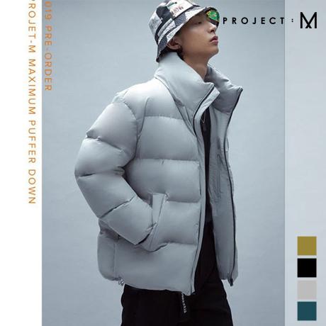 [프로젝트엠] 남성 푸퍼 숏 다운점퍼 EPZ4JD1600