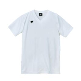 데상트 남성 V-NECK 반팔티(DSS4321) WHITE