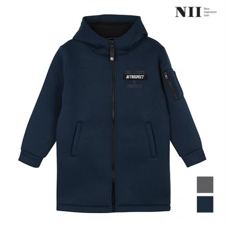 [NII] 아동 벨크로 네오플렌 후드 집업_2NNKAZTW8561