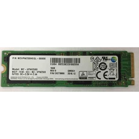 (삼성전자) SM961 M.2 2280 병행수입 256GB