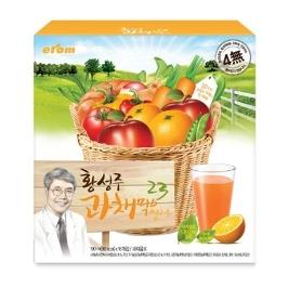 [원더배송] 이롬 황성주 과채믹스 23옐로우 190ml x 16 (2박스)