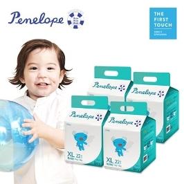 [원더배송] 페넬로페 씬씬씬 썸머 팬티 기저귀 특대형 22매x4팩(남아용)